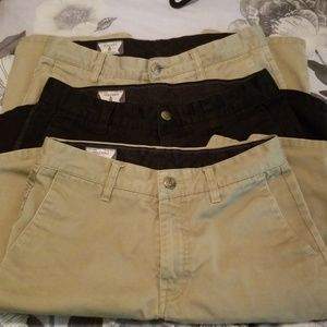 Lot of 3 Volcom shorts